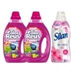 Color Reus Vloeibaar Wasmiddel&Silan Wasverzachter Voordeel Pakket