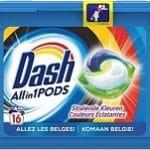 Dash All-in-1 Stralende Kleuren 16 Wasbeurten 16Pods