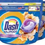 Dash Allin1 Pods Gouden Orchidee Wasmiddel - Voordeelverpakking 2 x 42 Wasbeurten - Wasmiddel Pods