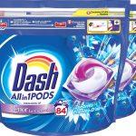 Dash Allin1 Pods Oceaanrust Wasmiddel - Voordeelverpakking 2 x 42 Wasbeurten - Wasmiddel Pods
