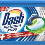 Dash Platinum Pods Wasmiddel - Voordeelverpakking 3 x 34 Wasbeurten - Wasmiddel Pods