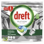 Dreft Platinum All In One Vaatwastabletten Regular 23 stuks