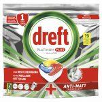 Dreft Platinum Plus All In One Vaatwastabletten Lemon 19 stuks