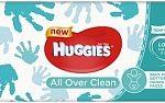 Huggies Billendoekjes Babydoekjes Every Day All Over Clean - 56 Stuks 56st