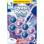 Witte Reus Toiletblok Kracht Actief Lavendel 2 stuks
