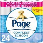 4x Page Toiletpapier Compleet Schoon 6 stuks