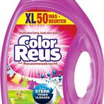Color Reus Gel Vloeibaar Wasmiddel - Gekleurde Was - Voordeelverpakking- 50 wasbeurten