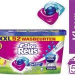 Color Reus Power Caps Wascapsules - Wasmiddel Capsules - Voordeelverpakking - 52 wasbeurten