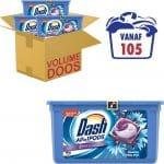 Dash Allin1 Pods Zeebries Wasmiddel - Voordeelverpakking 3 x 35 Wasbeurten - Wasmiddel Pods