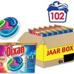 Dixan 4in1 Discs Color Wascapsules - Wasmiddel Capsules - Voordeelverpakking - 6 x 17 wasbeurten