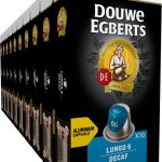 Douwe Egberts Lungo Decaf Koffiecups - 10 x 10 cups - cafeïnevrij - 100 koffiecups