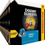 Douwe Egberts Lungo Decaf Koffiecups - 10 x 20 cups - voordeelpak - 200 koffiecups