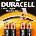 Duracell Batterijen Type-aa Penlite Lr6 Mn1500 15volt