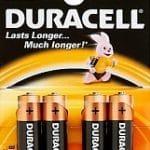 Duracell Batterijen Type-aa Penlite Lr6 Mn1500 1,5volt 4stuks