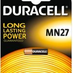 Duracell MN27 - GP27A - A27 - L828 12V alkaline batterij - 1 stuk