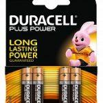 Duracell Plus Power Mn2400/aaa 4stuks