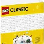 LEGO Classic - Witte bouwplaat 11010