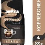 Lavazza Espresso Italiano Classico Koffiebonen - 6 x 500 gram