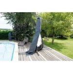Nature Tuinmeubelafdekhoes voor staande parasol (klein) afdekking 6030616