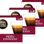 Nescafé Dolce Gusto capsules Espresso Peru - 36 koffiecups - geschikt voor 36 koppen koffie