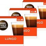 Nescafé Dolce Gusto capsules Lungo - voordeelverpakking - 90 koffiecups geschikt voor 90 koppen koffie