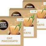 Nescafé Dolce Gusto capsules Oat Macchiato - vegan koffie - 36 koffiecups - geschikt voor 36 koppen koffie