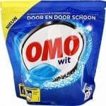 Omo Wasmiddel Capsules Wit 12 Wasjes