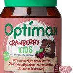 Optimax Kinder Cranberry Vanaf 3 Jaar - Voedingssupplement - 60 kauwtabletten