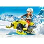 PLAYMOBIL Family Fun - Sneeuwscooter 9285