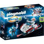 PLAYMOBIL Super 4 - Skyjet met Dr. X & robot 9003