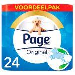 Page Toiletpapier Origineel