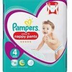 Pampers Active Fit Nappy pants - Luierbroekjes Maat 4 9-15kg 19-Luiers 19stuks