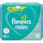 Pampers Billendoekjes Fresh Clean Navulpak 4x52=208 doekjes