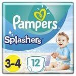 Pampers Splashers Maat 3-4 6-11kg Carrypack Luiers 12-Luiers 12st