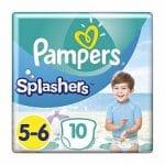 Pampers Splashers Maat 5-6 14+kg Carrypack 10-Luiers 10st