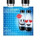 Sodastream Duopack 0,5L herbruikbare fles Emoji Waterkan Zwart