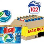 Dixan 4in1 Discs Extreme Power Wascapsules - Wasmiddel Capsules - Voordeelverpakking - 6 x 17 wasbeurten