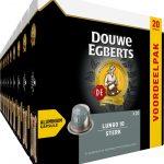 Douwe Egberts Lungo Sterk Koffiecups - 10 x 20 cups - voordeelpak - 200 koffiecups