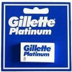 Gillette Platinum Scheermesjes Platinum 5stuks
