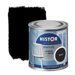 Histor Perfect Finish houtlak zijdeglans zwart 250ml