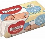 Huggies Billendoekjes Babydoekjes Pure *Bestekoop - 56 Stuks 56stuks