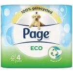 Page Toiletpapier Eco 4 stuks