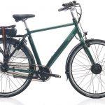 Villette la Chance elektrische fiets met Nexus 7 naaf, donkergroen, 54 cm, 13 Ah accu