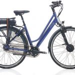 Villette la Ville elektrische fiets - Grijsblauw - 28 Inch