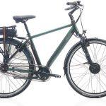 Villette la Ville elektrische fiets - donkergroen - Framemaat 54 cm