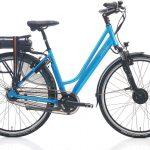 Villette la Ville elektrische fiets - turquoise - Framemaat 51 cm